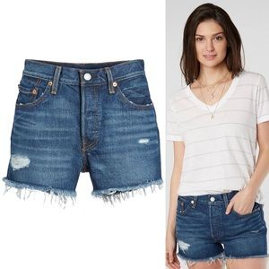 Levi's mid-rise 501 Short in Silverlake